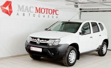 Renault Duster Белый